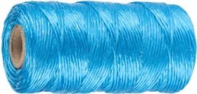 50075-060, Шпагат STAYER многоцелевой полипропиленовый, d=1,5 мм, синий, 60 м, 32 кгс, 0,8 ктекс