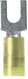 PN14-8LF-C, Fork Terminal 14-18AWG Copper Blue 23.37mm Tin Bottle