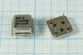 Кварцевый генератор 13.5МГц 5В, HCMOS/TTL в корпусе HALF=DIL8, гк 13500 \\HALF\T/CM\5В\HXO-2\HYO SUNG