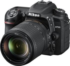 """Фото 1/5 Зеркальный Фотоаппарат Nikon D7500 черный 20.9Mpix 18-140mm f/3.5-5.6G VR 3.15"""" 4K 4K SDXC Li-ion"""