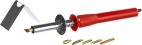 Фото 1/4 55430-H6, Прибор для выжигания MIRAX с набором насадок, 40 Вт, 6шт