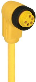 """RKW 50-877/5M, SENSOR CORD, 7/8"""" RCPT-FREE END, 16.4"""