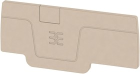 Фото 1/2 1521510000, END PLATE, BEIGE, TERMINAL BLOCK