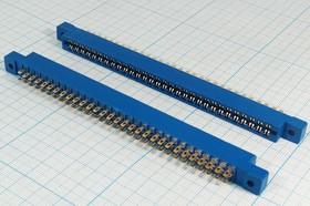 Фото 1/2 Прямоугольный соединительный слот расширения SLM на 30 гнёзд, 60 контактов, шаг 3.96мм; № 636 гн ПрС SLM-60\P3,96\ 30HC/60C\пан\\