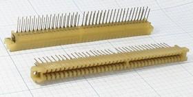 Прямоугольный соединительный слот расширения, шаг P3.75мм, 36 гнёзд, 72 контакта,РПП72Г9-2Т3; гн ПрС\P3,75\36HC/ 72P\\\РПП72Г9-2Т3
