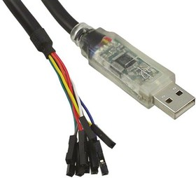 C232HD-EDHSP-0, HI-SPEED USB 2.0 TO UART CABLE, +5V