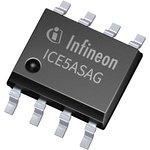 ICE5ASAGXUMA1, ШИМ контроллер, 9.4В до 27В питание, 100кГц, 10В/20мА выход, SOIC-8