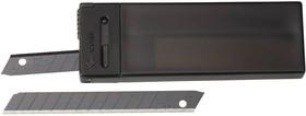 OL-ABB-10B, Лезвие OLFA сегментированные BLACK MAX, 9х80х0,38мм, 13 сегментов, 10шт