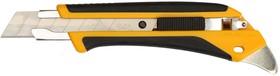 "Фото 1/2 OL-L5-AL, Нож OLFA ""AUTOLOCK"", двухкомпонентный корпус, 18мм"