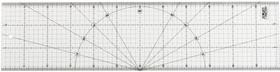 OL-MQR-15x60, Линейка OLFA разметочная, метрическая, 150х600мм