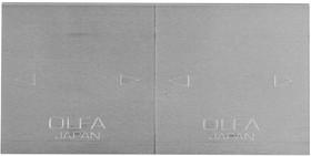 """Фото 1/2 OL-TB-25, Лезвие OLFA специальное, для скребка """"TB-25"""", 4-х стороннее лезвие с 3-мя типами режущей кромки, 25"""