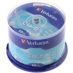 Verbatim 43351 CD-R DL CB/50 700MB, Записываемый ...