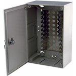 04-0152, Коробка распределительная на 100 пар, пластик с замком 320х215х75 мм