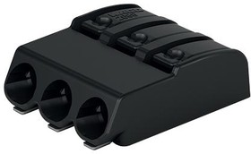 Фото 1/2 2060-473/998-404, Conn Terminal Block 3 POS 4mm Solder RA SMD 9A Box