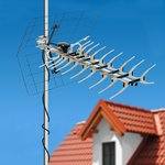 34-0412, ТB антенна наружная для цифрового телевидения DVB-T2, RX-412
