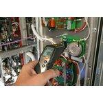 Фото 2/3 testo 830-T4, Инфракрасный термометр с 2-х точечным лазерным целеуказателем, пирометр