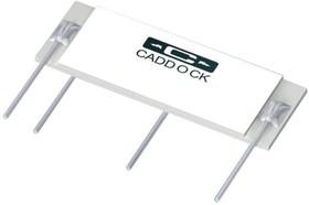 USVD2-B10M-010-02, RESISTOR NETWORK, VOLTAGE DIVIDER, SIP, 10 MEG, 1400V, RATIO 100:1, RATIO TOL. 0.01%, RATIO TC 2PPM