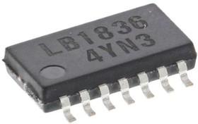 Фото 1/3 LB1836M-TLM-E, , Stepper Motor Driver IC, 9 V 1A 14-Pin, MFP