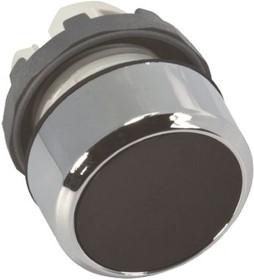 Кнопка MP1-20B черная без подсветки без фиксации низкая