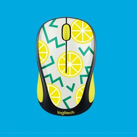 910-004713, Беспроводная мышь M238 Party Collection Лимоны - LEMON - 2.4GHZ