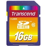 TS16GSDHC10, Карта памяти 16GB SDHC Class10