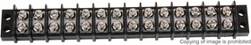 Фото 1/3 1-1546306-4, TERMINAL BLOCK, BARRIER, 14 POSITION, 22-12AWG