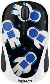 910-004716, Беспроводная мышь M238 Party Collection Космонавт - SPACEMAN - 2.4GHZ