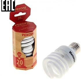 Лампа эн.сб. РЕКОРД SP (А60) 20Вт E27 2700K (21233)