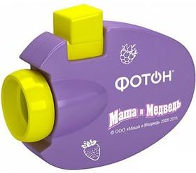 Мультфонарик-проектор «ФОТОН - Маша и Медведь» 1/2/3/4/5, мод. КР-0903-2 (22532)