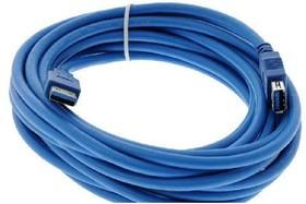 PL1303, Кабель удлинитель USB3.0 А вилка- USB А розетка, 1.8м