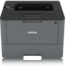 HLL5000DR1, Принтер HL-L5000D черный, лазерный, A4, монохромный, ч.б. 40 стр/мин, печать 1200x1200, лоток 250+50