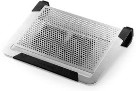 R9-NBC-U2PS-GP, Подставка для ноутбука Cooler Master sand blasted aluminum surface, 2 x 80 mm moveable fans, 1 USB p