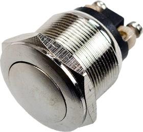 PBS-28B-W, Кнопка антивандальная OFF-(ON) (2A 250VAC) IP66 Waterproof