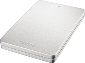 "HDTH305ES3AA, Внешний жесткий диск TOSHIBA HDTH305ES3AA Canvio Alu 500ГБ 2.5"" USB 3.0 Silver"