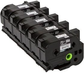 HGE261V5, Наклейка ламинированная High grade x 5шт в упаковке (для высокоскоростной печати, ширина 36 мм, длин