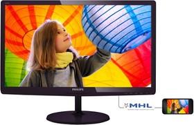 227E6LDSD (00/01), Монитор LCD 21,5'' [16:9] 1920х1080 TN, nonGLARE, 250cd/m2, H170°/V160°, 1000:1, 20М:1, 1ms, VGA, DV