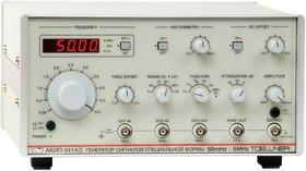 АКИП-3414/1, Генератор сигналов специальной формы