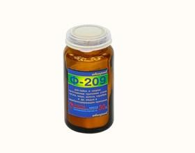 Ф-209 (порошковый) 30гр, Флюс для пайки стали, чугуна, меди, золота, серебра, и т.д.
