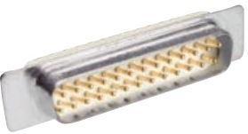 DCMMR-37SB, Connector Combo D-SUB Coax 90 Degree PCB Plug