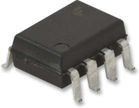 HCPL-2602-300E, Оптопара, с цифровым выходом, 1 канал, 3.75 кВ, 10 Мбод, Поверхностный Монтаж DIP, 8 вывод(-ов)