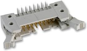 09 18 564 7903, Разъем типа провод-плата, длинная защелка, 2.54 мм, 64 контакт(-ов), Штыревой Разъем, Серия SEK 18