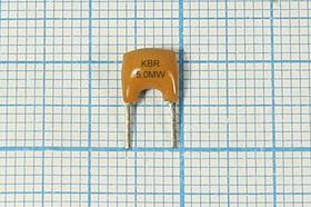 Керамические резонаторы 5МГц, с двумя выводами, пкер 5000 \C07x5x08P2\\5000\3000/ -20~80C\KBR5,0MW\2P