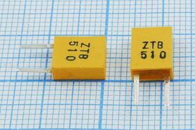 Керамические резонаторы 510кГц с двумя выводами, пкер 510 \C07x4x09P2\\ 3000\\ZTB510P\2P (510)