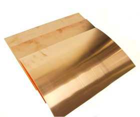 Лист меди М1 0.15 х 200 х 300 мм ( мягкий )