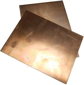 Лист меди М1 2 х 150 х 200 мм (мягкий)