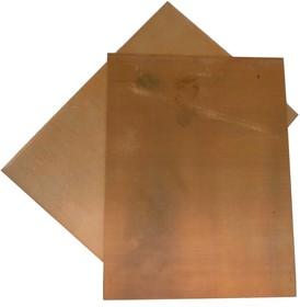 Лист меди М1 3 х 150 х 200 мм (твердый)