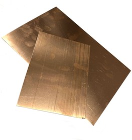 Лист меди М0Б бескислородная 0,8 х 200 х 300 мм