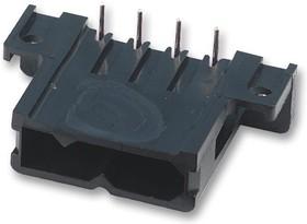 TST03RE01T, Разъем типа провод-плата, угловой, 5.08 мм, 3 контакт(-ов), Штыревой Разъем, Серия Trident TSTSLIM