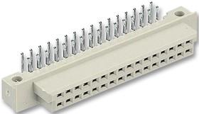 09272326801, Разъем DIN 41612, Серия Type 2Q, 32 контакт(-ов), Гнездо, 2.54 мм, 2 ряда, a + b