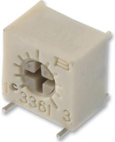3361S-1-103GLF, Подстроечный потенциометр, 10 кОм, 1 виток(-ков), Устройство Поверхностного Монтажа